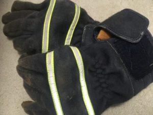 薪ストーブ 料理 手袋