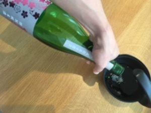 日本酒 銘柄 桜顔 注ぐ
