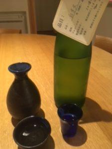 日本酒 銘柄 白木久 燗と冷酒 飲み比べ