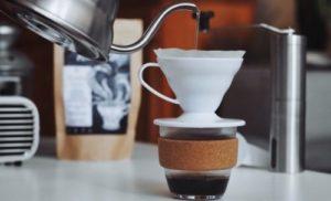 コーヒー 焙煎 自宅 淹れる写真