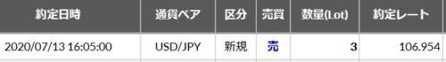 fx ドル円 売りET