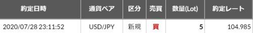 fx ドル円 kaiエントリ