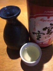 日本酒 銘柄 種類 とっくりおちょこ入れた後