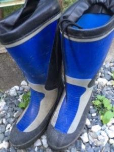 薪 調達 long boots