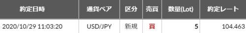 fx ドル円 エントリ